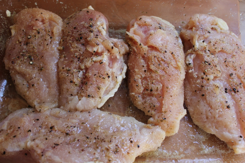 marinating chicken breast