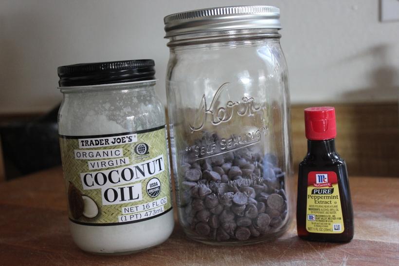 3 Ingredient Mint Chocolate Magic Shell