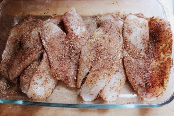 Blackened Tilapia & Homemade Blackening Seasoning