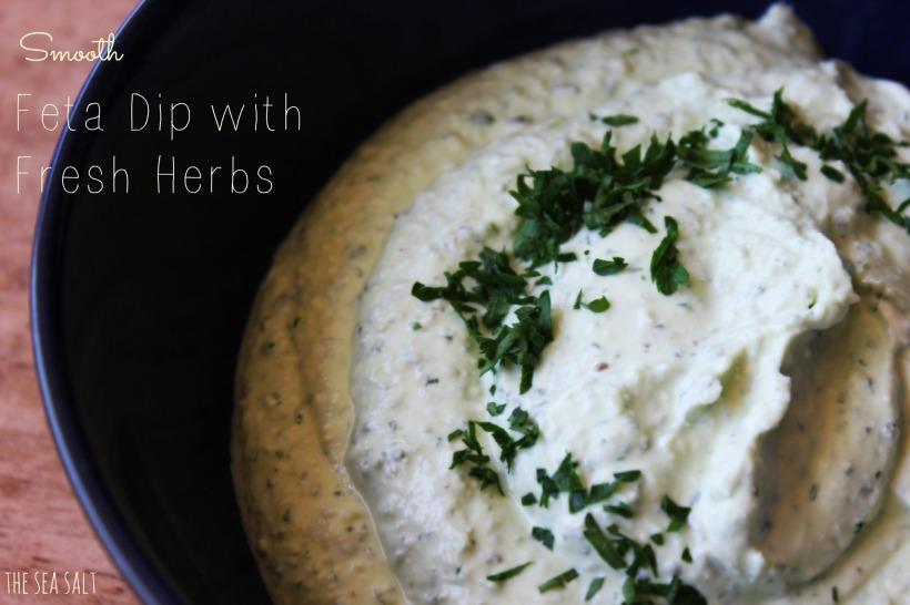 Smooth Feta Dip with Fresh Herbs
