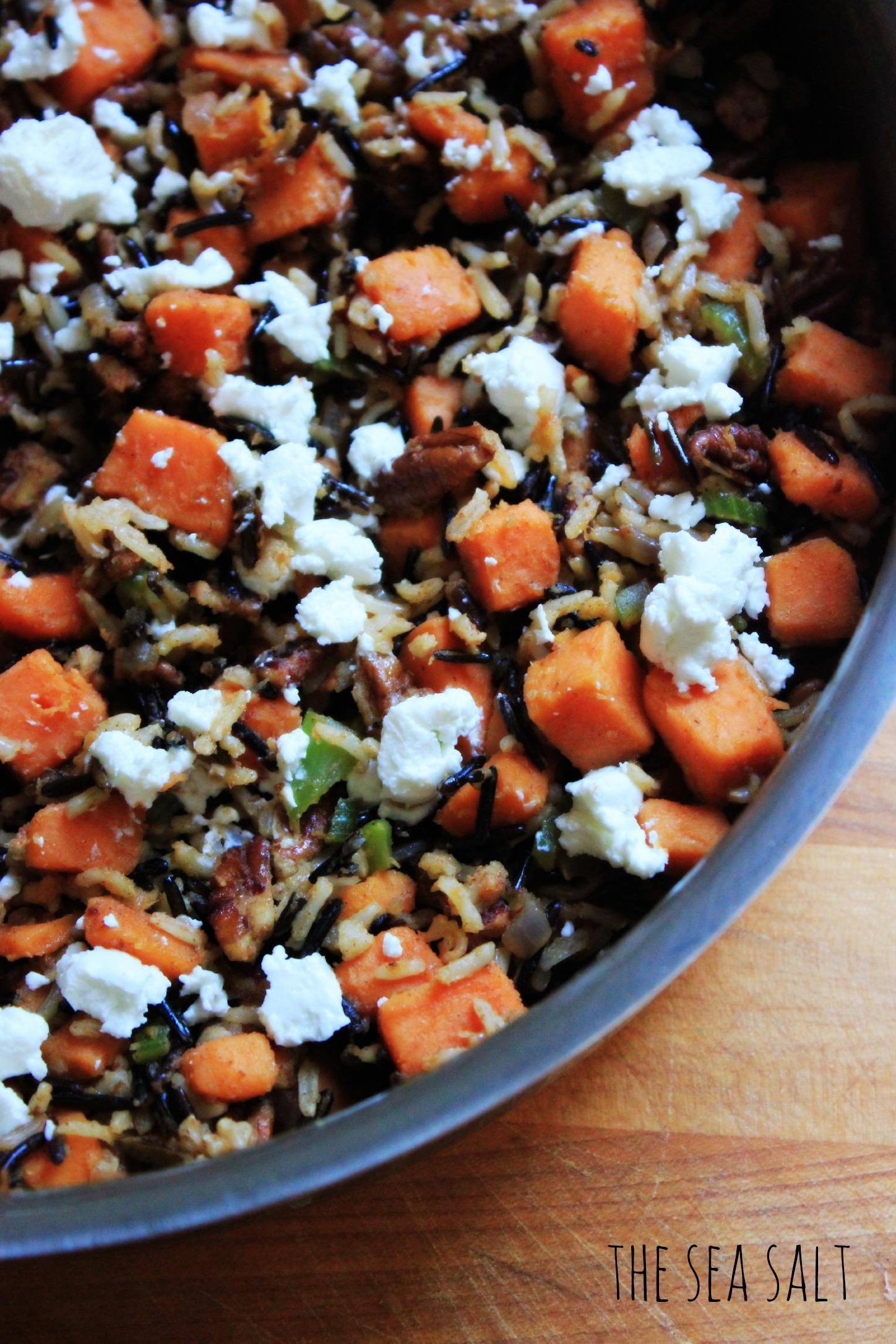 Autumn Wild Rice with Roasted Sweet Potatoes, Pecans and ...