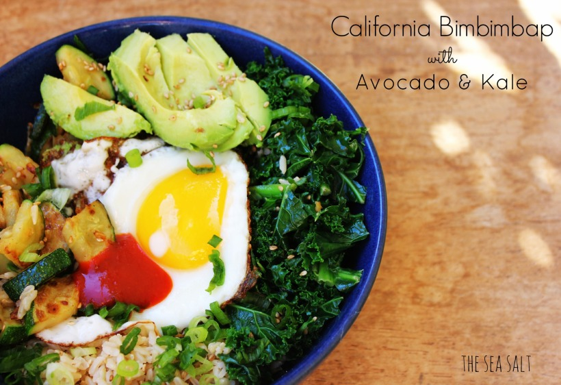California Bimbimbap with Avocado & Kale