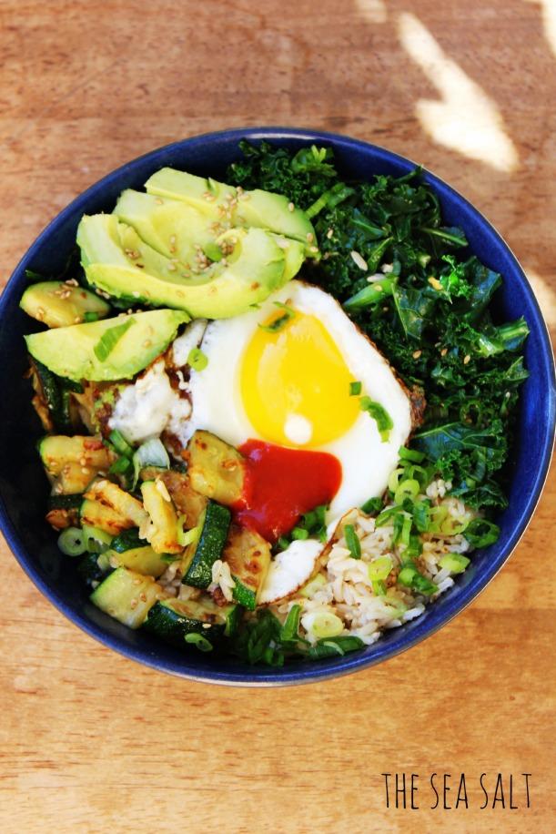 California Bimbimbap with Avocado & Kale