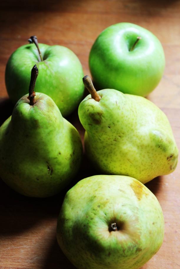 Pear Almond Cobbler