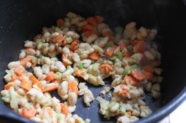 Creamy Garlic & White Bean Soup with Orzo