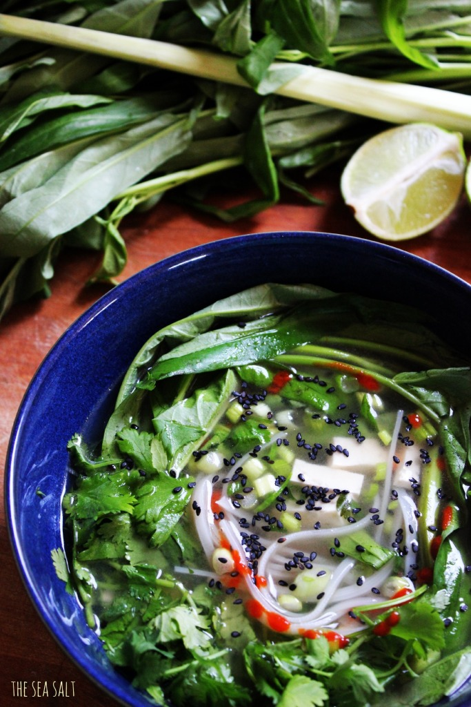 Lemongrass Soup with Vegetables