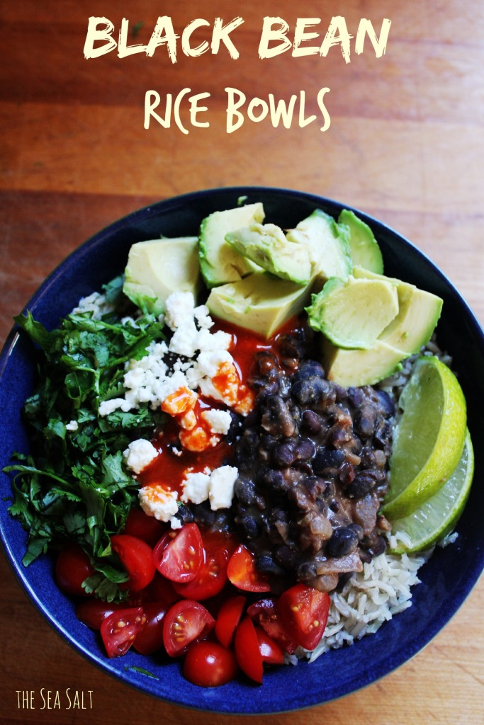 Black Bean Rice Bowls