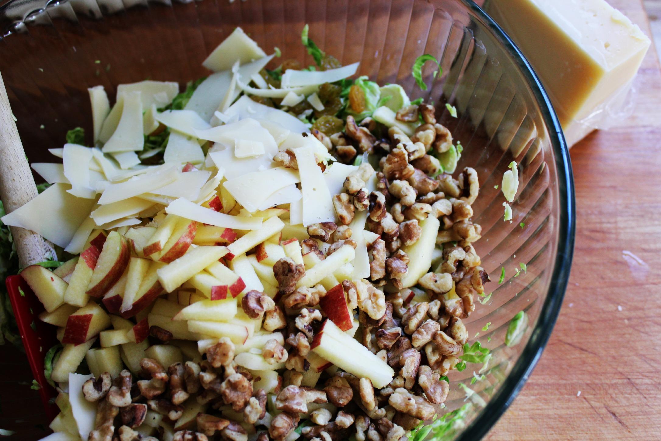... Salad with Apples, Golden Raisins, Walnuts & Parmesan | The Sea Salt