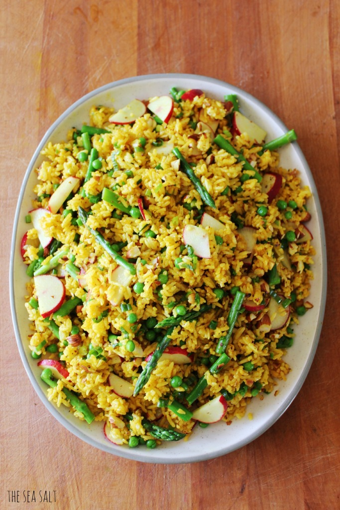 Easter Curry Rice Salad